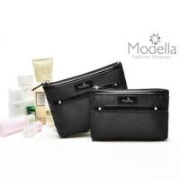Black  mini coin purse female cosmetic bag small storage bag small bag