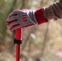Outside sport fleece thickening thermal gloves male women's winter cycling gloves lovers gloves plus velvet