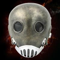 The Hellboy Clockwork Man Karl Ruprecht Kroenen Crewe High quality Resin Mask Cosplay Halloween Mask 25*21cm Free shipping