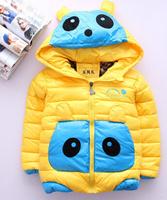 Children in winter cotton-padded jacket girl baby boy coat thickening cartoon winter jacket