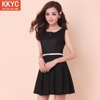 KKYC Design Women's Autumn Dress 2014 spring and summer one-piece spring full dress bohemia chiffon long designvestido de festa