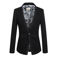 Free Shipping New 2014 Autumn Slim Fit Men's Blazers Men Suits