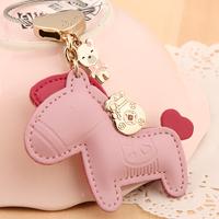 Free shipping Fashion Korean key chain Get rich immediately car key chain creative gift key chain for decoration