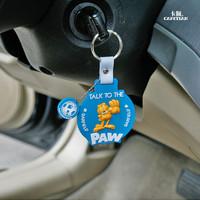 Garfield car keychain cartoon key ring keychain jfysq-04 car decoration