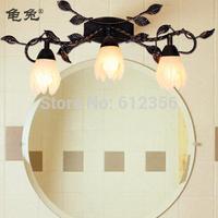 Fashion lamp flowers and iron mirror light wall lamp iron lamp b56003-3b