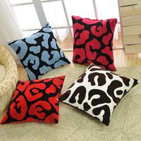 Sofa pillow fashion home cushion pillow bed sets velvet cushion 45*45