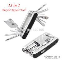 Новый велосипедов ремонт инструменты 19 в 1 многофункциональный инструмент установить комплект Велоспорт велосипед портативный набор ремонта инструментов
