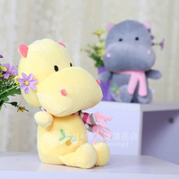 2014 New Arrival Children Hippopotami Doll Plush Toys Cloth Dolls Stuffed Toys Wedding Gifts 4 Colors Height 22cm Free Shipping