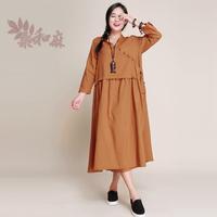 [ LYNETTE'S CHINOISERIE - Sang ] 2014 national trend women's hanfu fluid 7 length sleeve one-piece dress