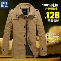 Man 2014 spring autumn Jacket,men's fashion Jacket for men coat,trench coat,winter