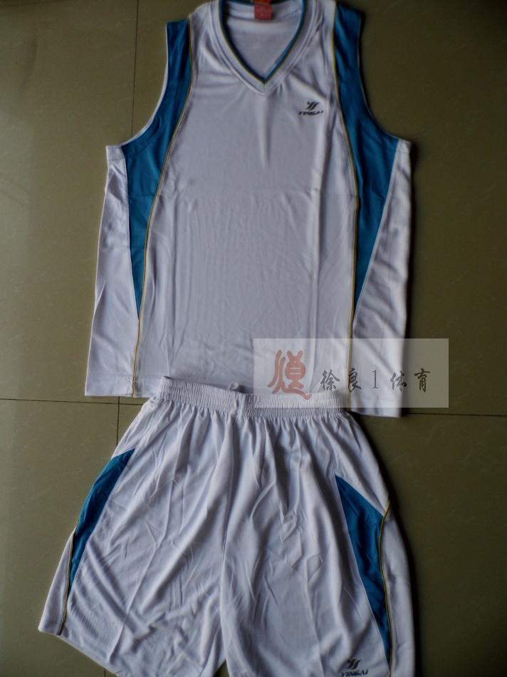 Silver basketball clothes set summer basketball shirt printing white(China (Mainland))