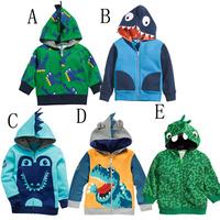 1-St Free shipping Autumn child demon loop pile outerwear cartoon male child outerwear kids coat child coat 5pcs/lot