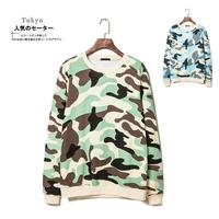 Ga25 2014 autumn and winter male Camouflage print sweatshirt lovers casual sweatshirt p55