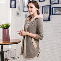2014 women's autumn outerwear casual long-sleeve top women's autumn short jacket