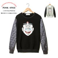Ga43 2014 autumn trend vintage old master q male slim o-neck pullover sweatshirt p60