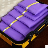 Travel storage bag set Travel to receive bag suit a variety of size clothes bag underwear receive a bunch of pocket