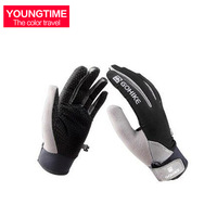 Outdoor windproof gloves full bicycle gloves slip-resistant breathable hiking sunscreen uv