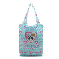 High quality fresh print folding portable eco-friendly bag shopping bag nylon bag