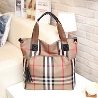 2014 autumn famous brand designer satchel bag lady vintage fringe handbag bolsa com franja fashion canvas goyar womens bags free
