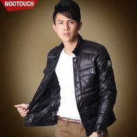 2014 new Korean men's lightweight jacket Slim thin coat tide men's down jacket coat