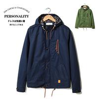 2014 autumn mene fashion casual slim jacket outerwear