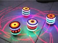 Free shipping plastic children's toys, musical Gyro Gyro Halloween night play