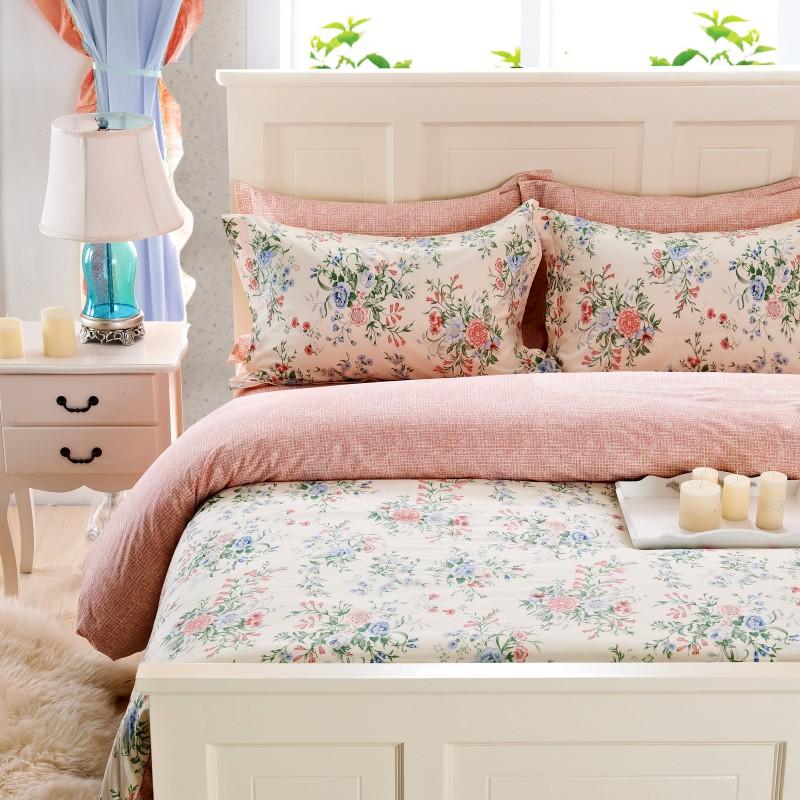 Pedaço de tecido exalativo definir lençóis rústico 100% lençóis de algodão algodão capa de edredão 100% algodão de 1,8 metros(China (Mainland))