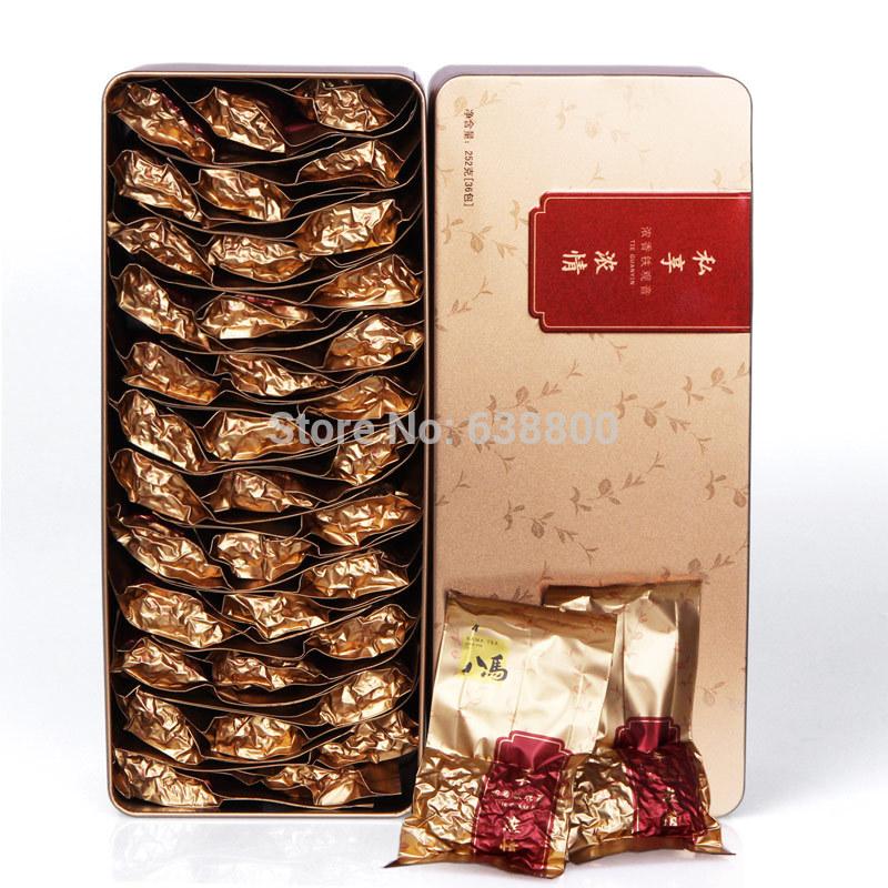 Specaily tea fragrant oolong tea type gift box valentine 252g 2 box(China (Mainland))