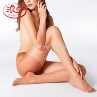 Langsha stockings women's 10d meat silk velvet pantyhose legs socks