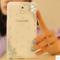 Hot Cystal Back Cases Cover For Samsung Galaxy S4 i9500 Bling Bling Mobile Phone Case Protection Shell Wholesales Min Order $10