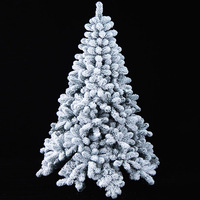 150cm/59inch  Artificial Christmas Tree,Encryption flock printing Christmas tree ,christmas tree 150cm free shipping 001