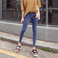 Trousers denim trousers pencil pants female