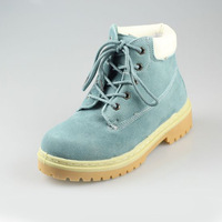 2013 genuine leather scrub lacing martin boots platform shoes tooling RONZO