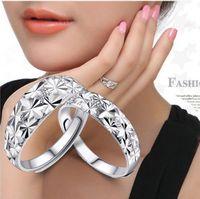 Adjustable ring lovers ring platinum finger ring openings mantianxing ring box