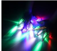 Laser light multicolour light ring light colorful led finger light card bulk toys