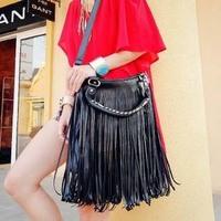 2014 women handbag winter product launches fashionable restore ancient ways tassel messenger bag, single shoulder bag