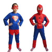Halloween child clothes super man clothes clothing child set