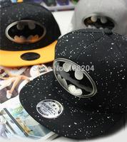 2014 New Fashion Batman Lovers Adjustable Snapback Hip-hop Baseball Cap Unisex