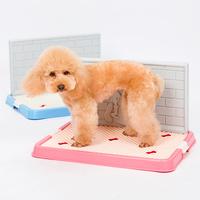 Dog pet male mesh teddy unacceptable Large Small bianpen niaopen toilet