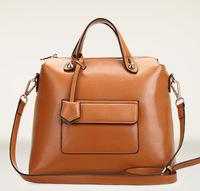 Cowhide women's handbag fashion genuine leather vintage one shoulder cross-body bags messenger bags