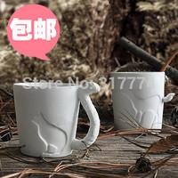 Kinto animal cartoon ceramic mug coffee cup glass