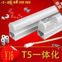 T5 led fluorescent lamp full set mount with lights reflector neon 1.2 mount lamp led 110v-256v 28cm mini led H.K postal delivery