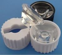 High power led lens mount 1w 3w 5w tile light beads refires flashlight condenser condensing lens