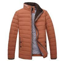 Plus Size M-5XLdown & parkas mens winter jackets slim fit stand collar parka men winter jacket 4 colors