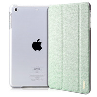 Ultra thin PU Folding Folio case  for ipad mini case Classical  Smart case for ipad mini 2 mini2