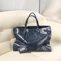 Free Shipping Genuine Cowhide Leather Women Handbag Tote Bags City Series Lady Motorcycle Fashion Shopping bag 41*31*13 cm