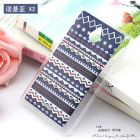 For Nokia X2 1013 X2DS tpu case Cover,Cute Girl flower Painted For Nokia X2 back cover with free gift free shipping