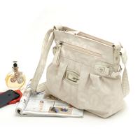 2014 new handbag Fashion brief elegant white letter jacquard women's casual shoulder bag messenger bag