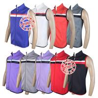 2014 New design golf clothes short-sleeve T-shirt Men vest thermal sport golf vest , high elasticity high quality vest red