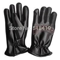 Imitative genuine leather men's gloves treasures thermal gloves large